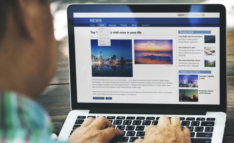 tworzenie stron www - laptop