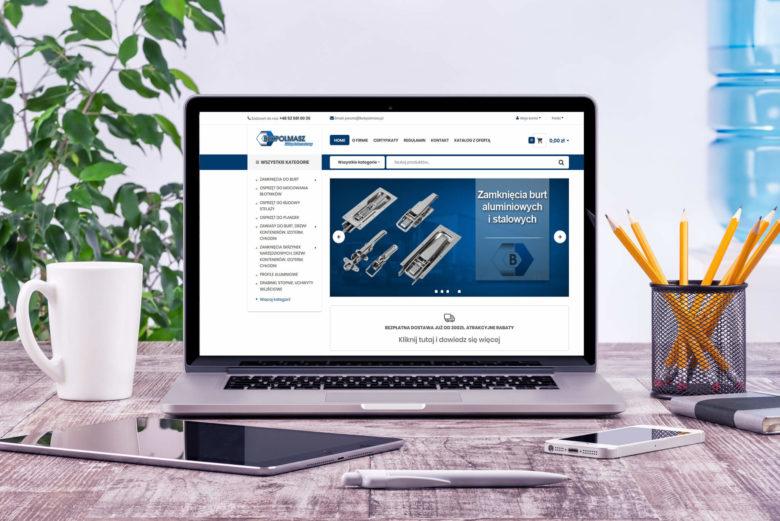 Aktualizacja sklepu internetowego dla firmy BEKPOLMASZ