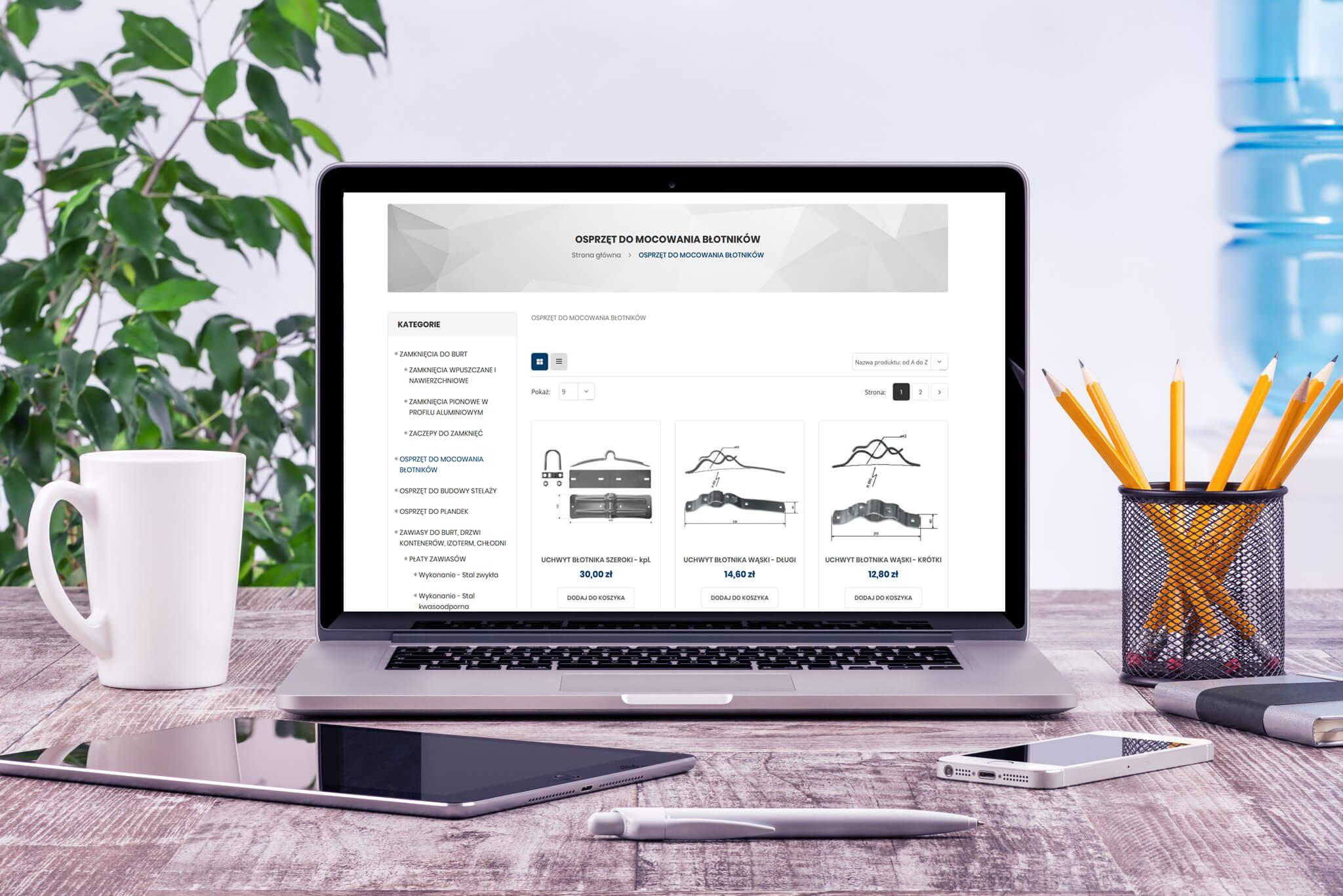 Sklep internetowy firmy BEKPOLMASZ - Kategoria
