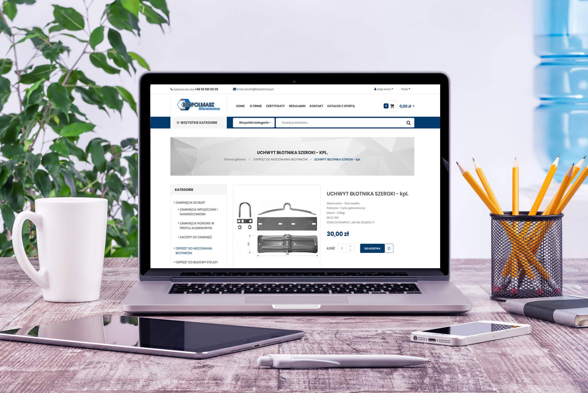 Sklep internetowy firmy BEKPOLMASZ - Produkt