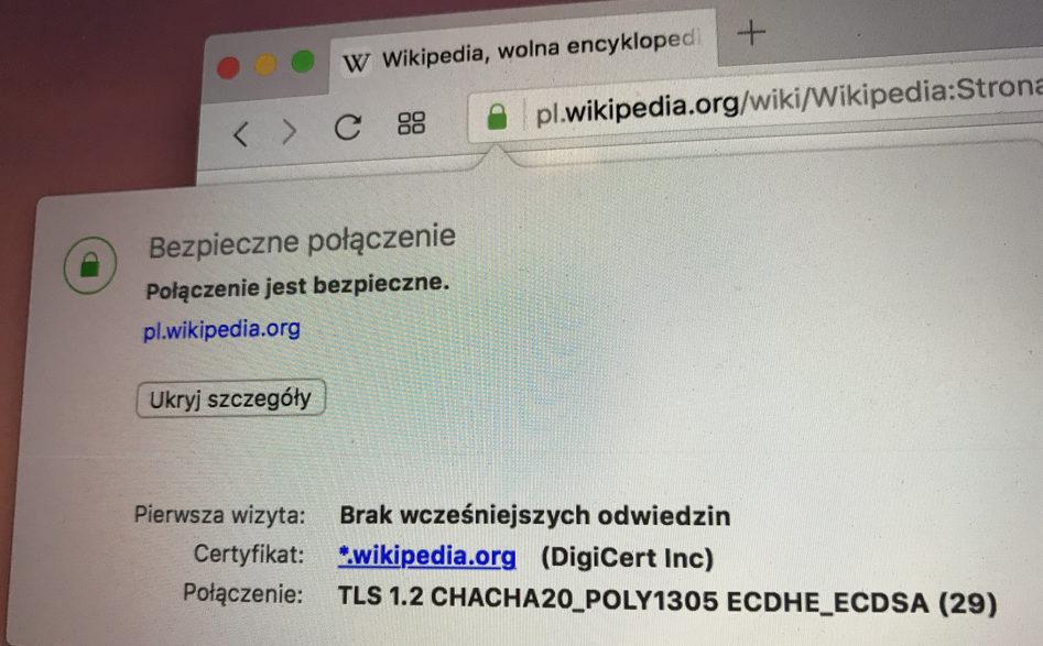 Certyfikat SSL a pozycjonowanie strony www