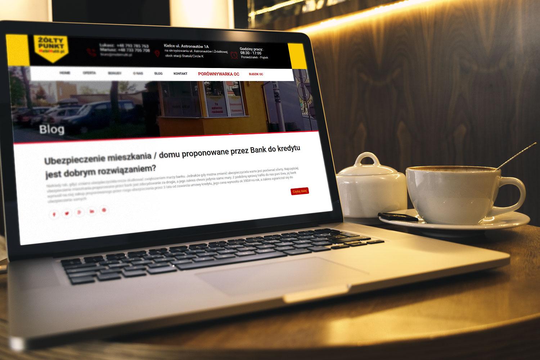 Projekt strony www dla multiagencji ubezpieczeniowej - mobimulti.pl - obraz 3