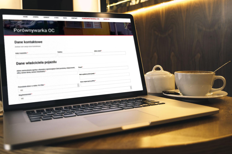 Projekt strony www dla multiagencji ubezpieczeniowej - mobimulti.pl - obraz 2