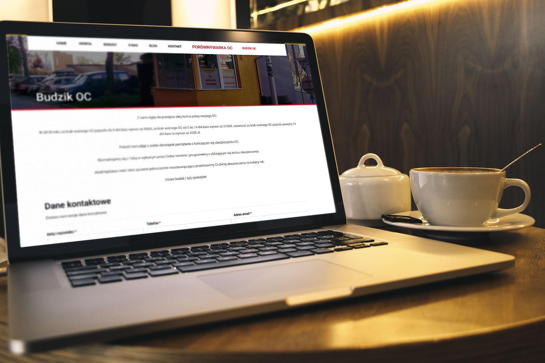 Projekt strony www dla multiagencji ubezpieczeniowej - mobimulti.pl - obraz 1