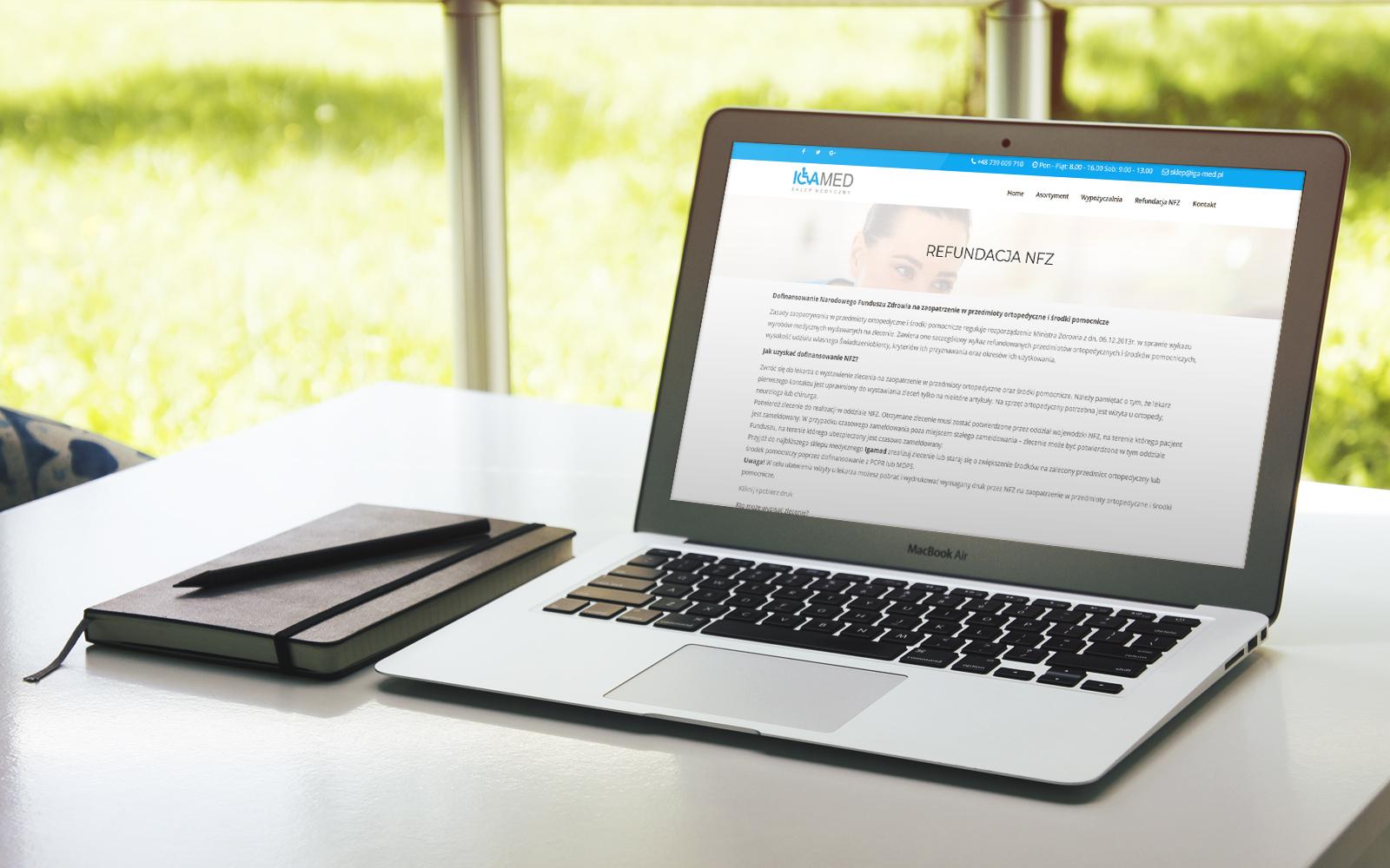 Firmowa strona internetowa - www.iga-med.pl zdjecie2