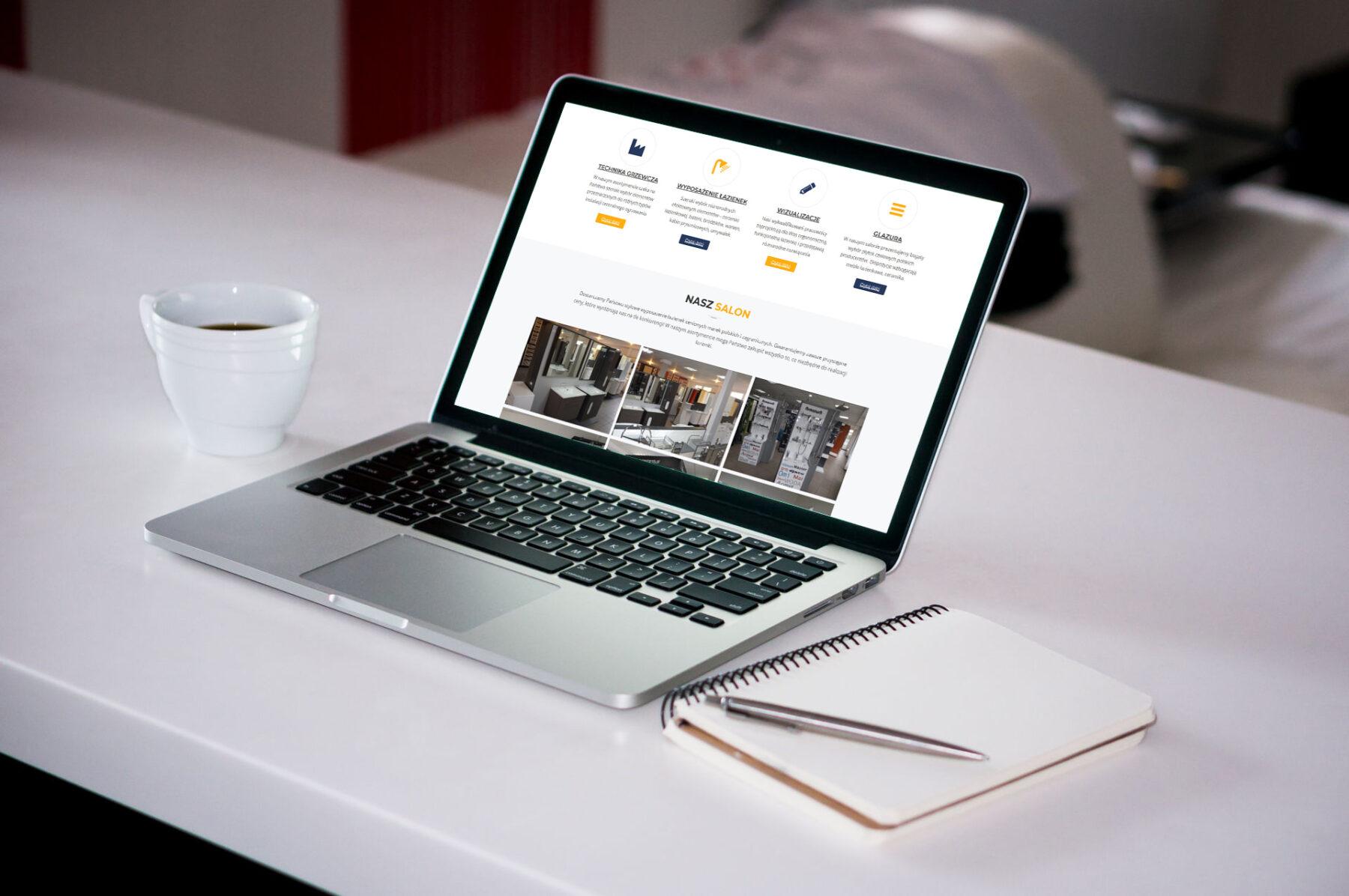 Strona www dla firmy SANBUD - Zdjęcie 3