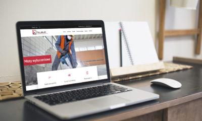 Strona internetowa dla firmy TEL-BUD