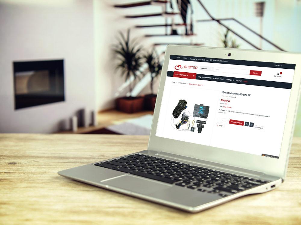 Projekt strony internetowej enerma.pl - screen 4