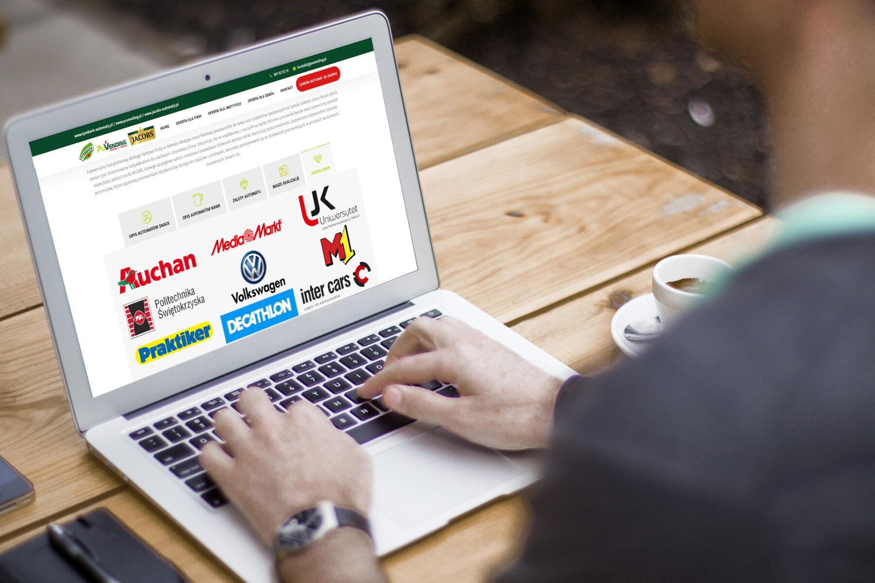Wizualizacja strony www puvending.pl - screen 4