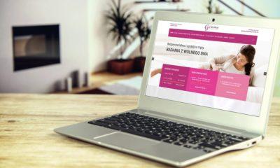 Projekt strony internetowej dla poradni Gemma CMI – prywatnego Centrum Medycznego dla kobiet