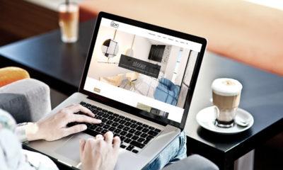 Firmowa strona internetowa dla studia projektowania wnętrz SOHO