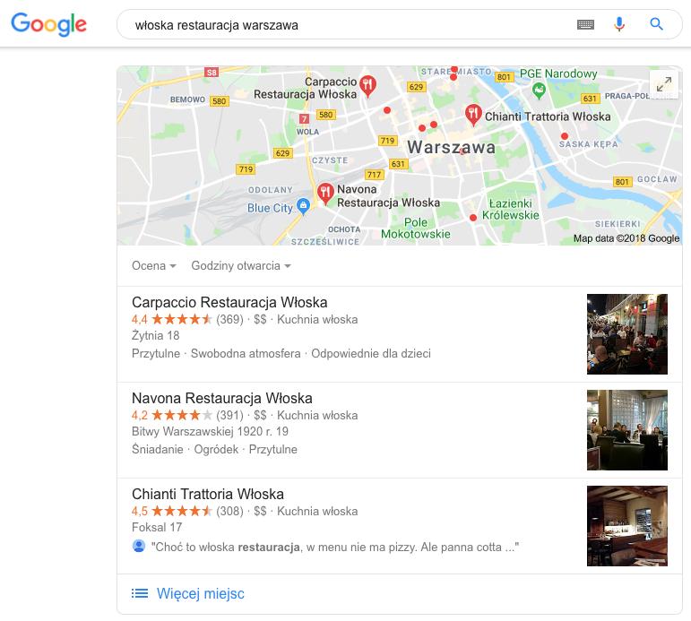 wloska-restauracja-warszawa-google-maps