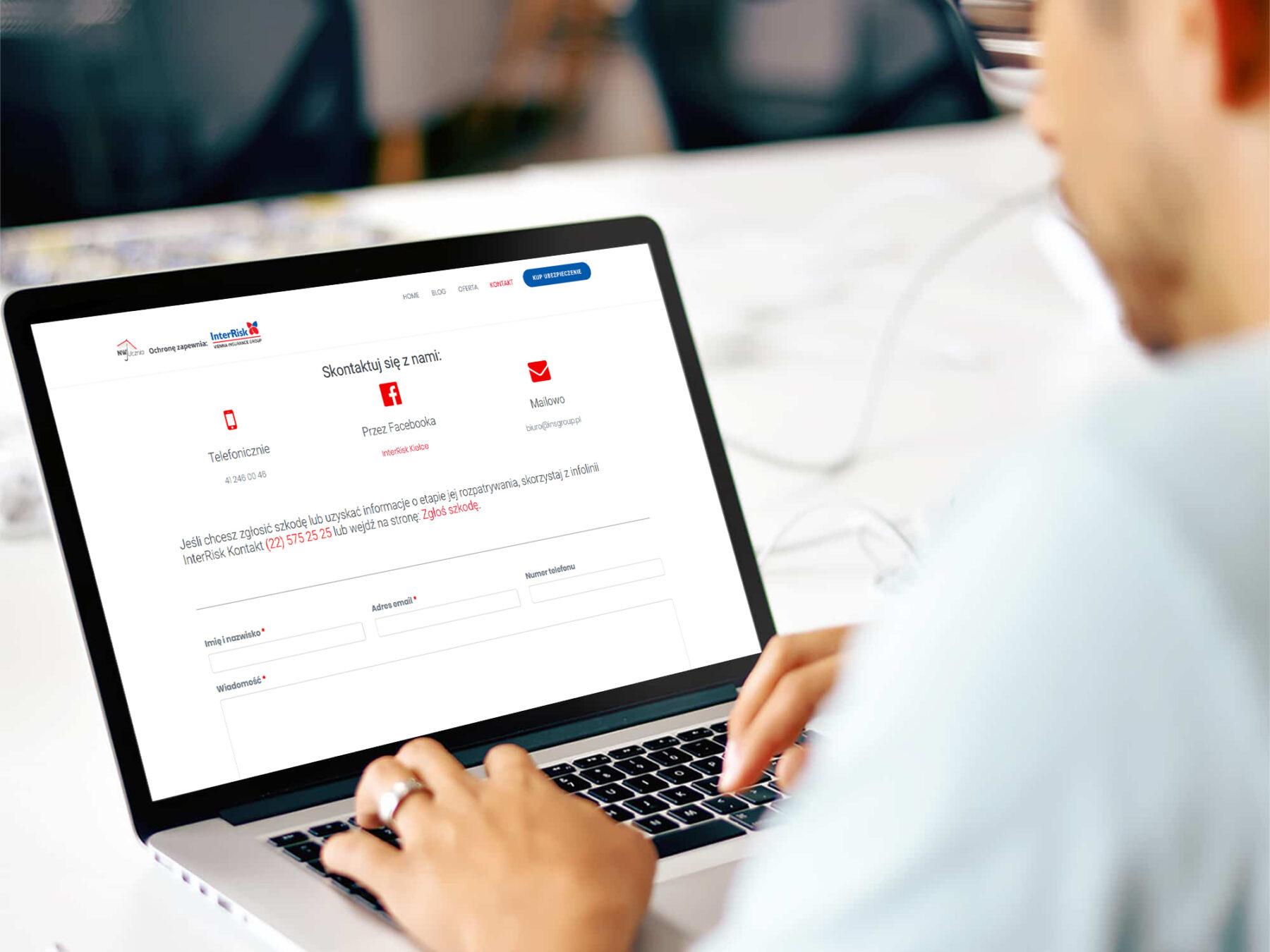 Strona internetowa dla firmy INS Group 1