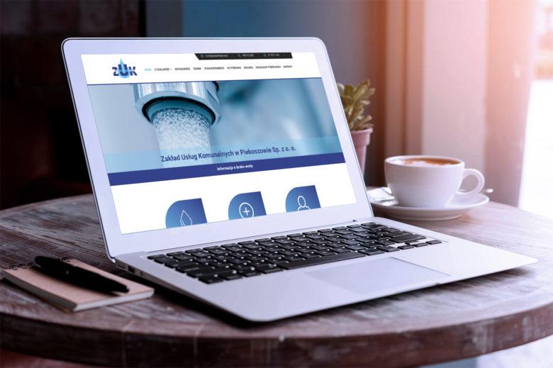 Nowa strona internetowa dla Zakładu Usług Komunalnych w Piekoszowie