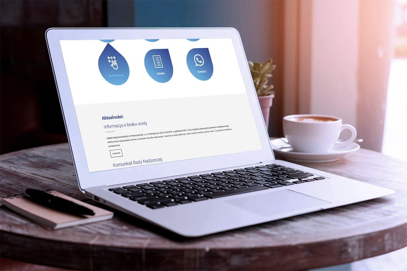 Projekt strony internetowej dla Zakładu Usług Komunalnych w Piekoszowie - galeria 2