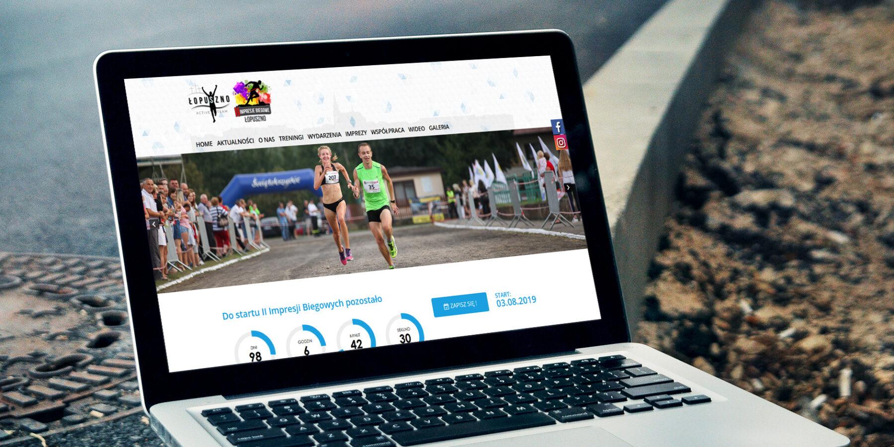 Projektowanie stron internetowych - strona www lopusznoactiveteam.pl - zdjęcie 1