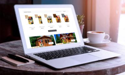 Projekt sklepu internetowego tanieimpregnaty.pl - wizualizacja 2