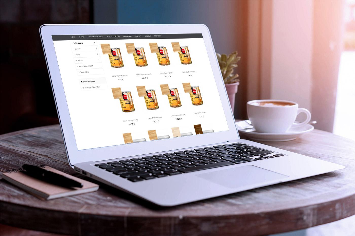 Projekt sklepu internetowego tanieimpregnaty.pl - wizualizacja 5