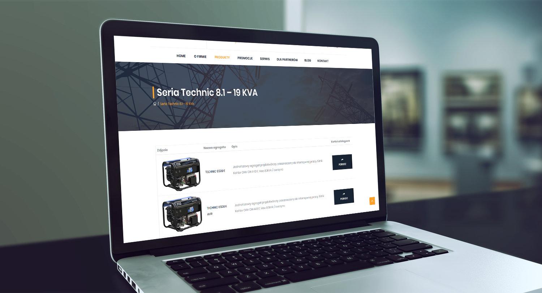 Projekt strony www z katalogiem produktów ener-tech.pl - obraz 4