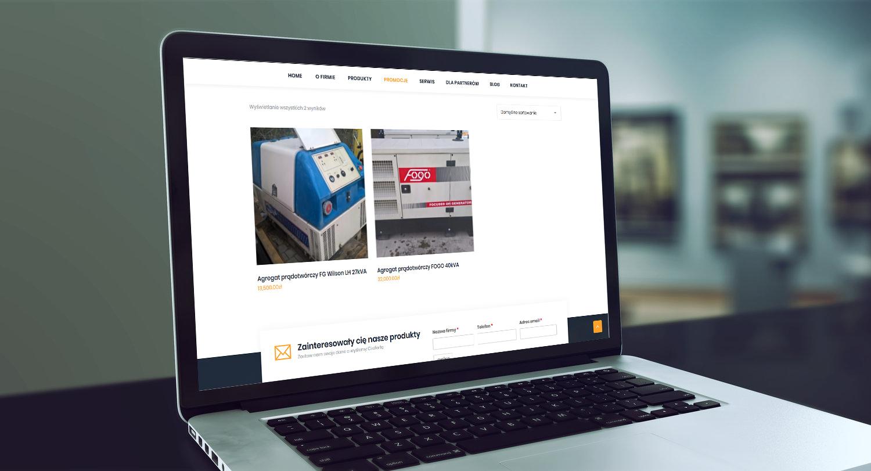 Projekt strony www z katalogiem produktów ener-tech.pl - obraz 6