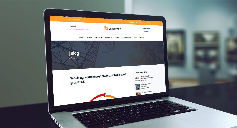 Projekt strony www z katalogiem produktów ener-tech.pl - obraz 7