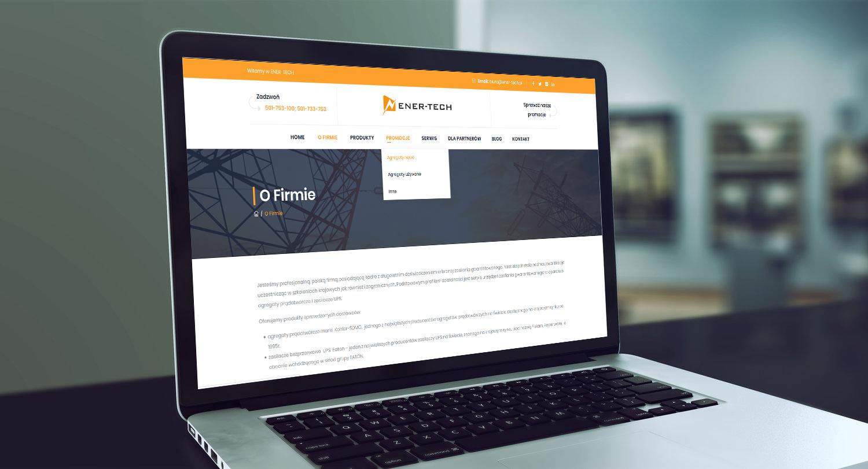 Projekt strony www z katalogiem produktów ener-tech.pl - obraz 8