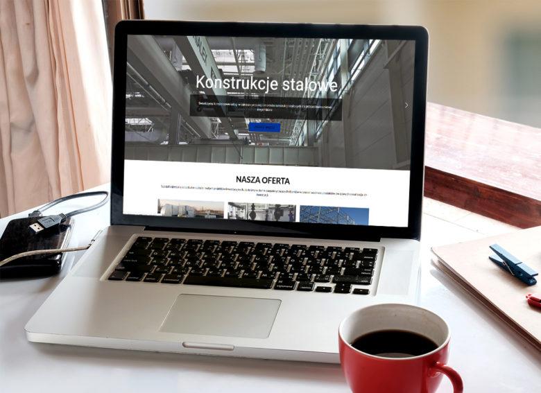 Projekt firmowej strony www ologroup.pl - wizualizacja 6