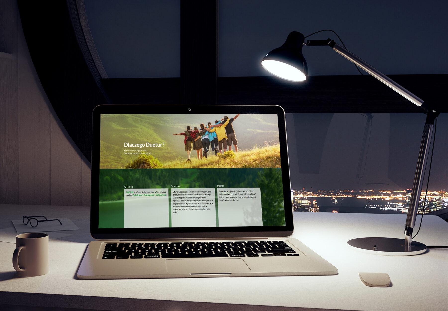 Projektowanie stron www - strona internetowa duetur.pl - obraz 3
