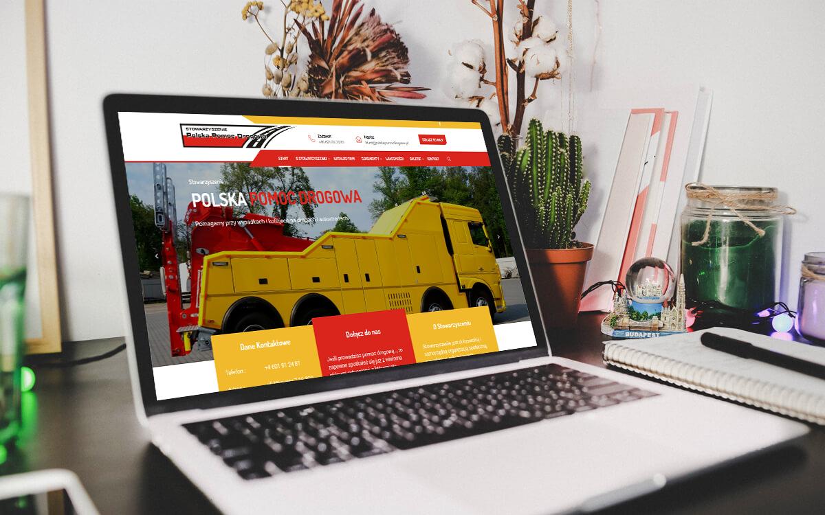 Nowa strona internetowa dla stowarzyszenia Polska Pomoc Drogowa