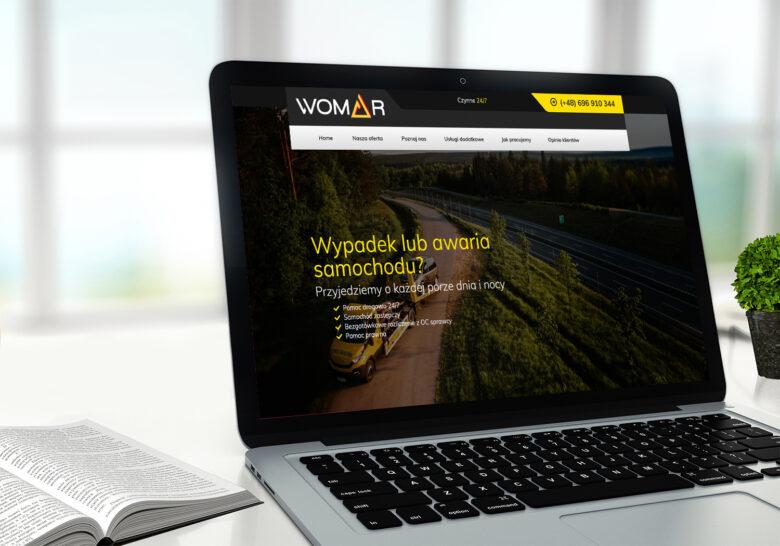 Zmiany na stronie internetowej womar.info