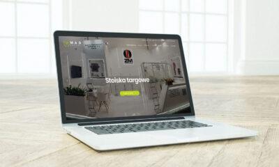 Strona www dla kieleckiej firmy z branży reklamowej – Madexpert