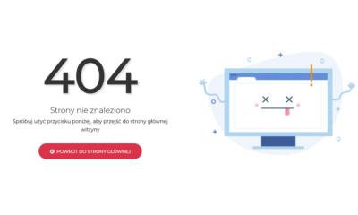 Tworzenie stron internetowych – dobre praktyki na stronach błędu 404