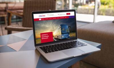 Nowoczesna strona WWW dla firmy Linea-Trans