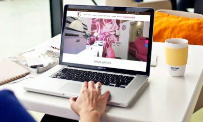 Strona internetowa dla salonu urody Monika