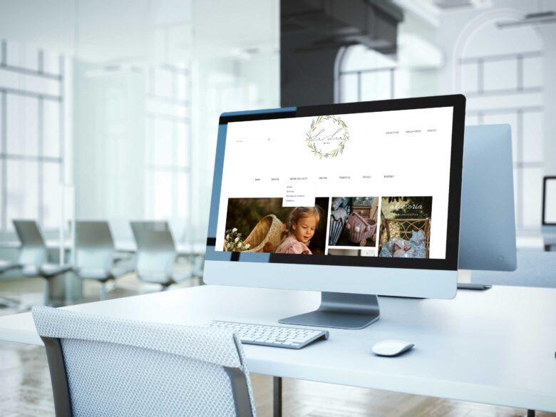 Wykonanie sklepu internetowego lilushop.pl