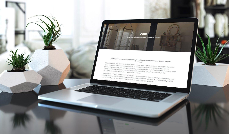 Strona internetowa dla Świętokrzyskiego Centrum Terapii CONCORDIA