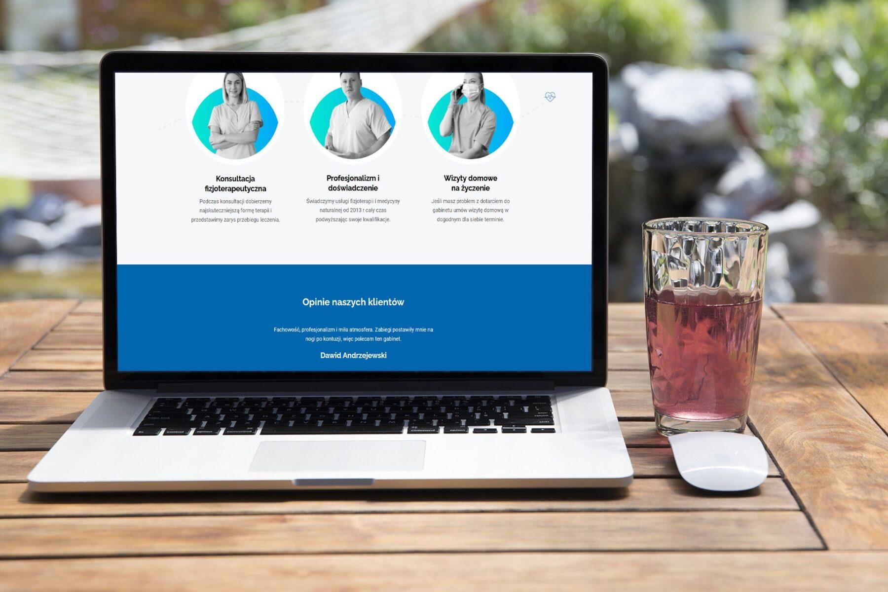 Strona www dla firmy BIOMAR