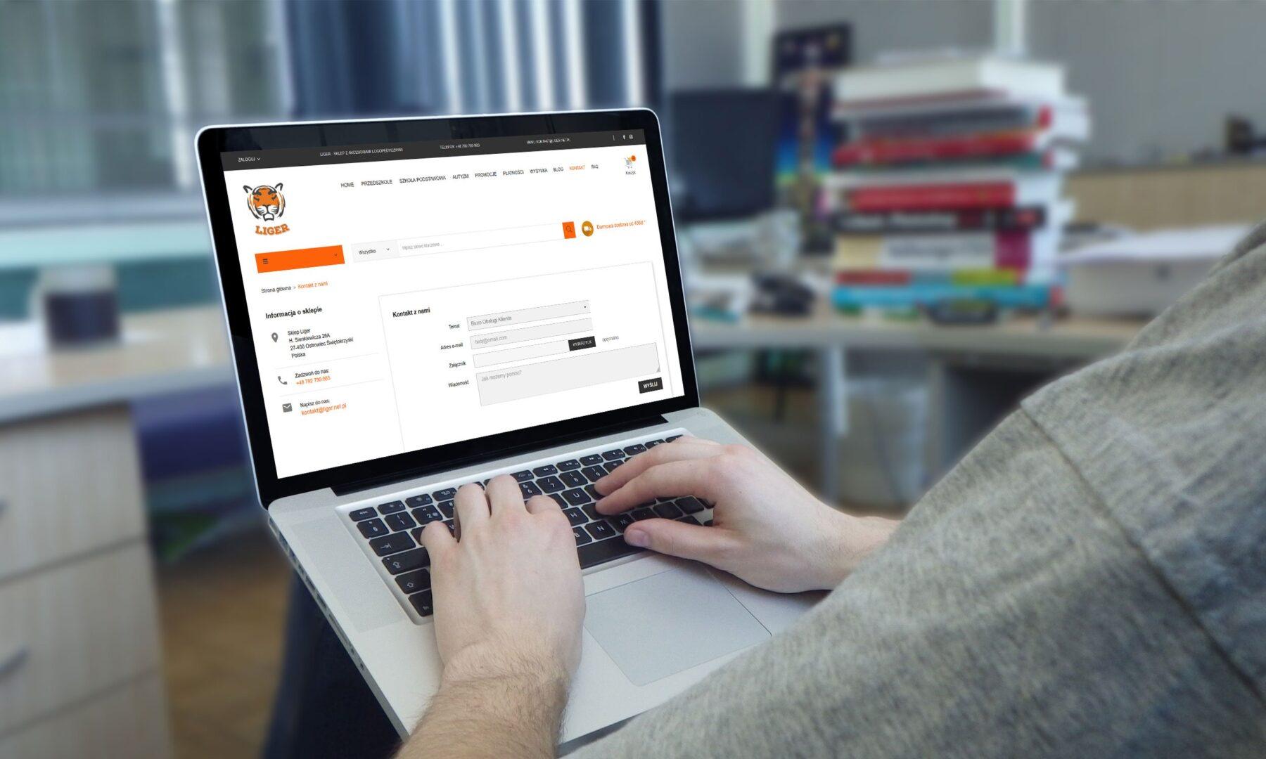 Sklep internetowy liger.net.pl