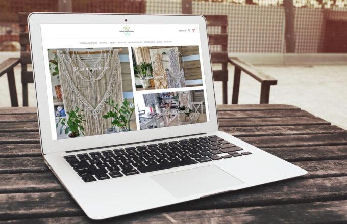 tworzenie sklepów internetowych makramynablokowisku.pl by siplex - Wizualizacja 1