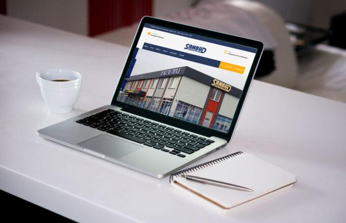 strony internetowe dla firm sanbudkielce.pl by siplex - Portfolio 1