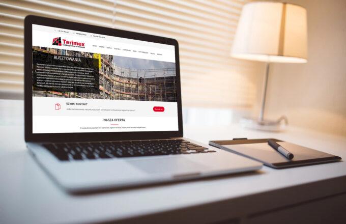 strony internetowe dla firm terimex.pl by siplex - Obrazek 1