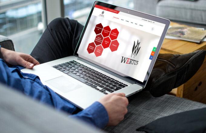 tworzenie stron wordpress wertus-windykacja.pl by siplex - Portfolio 1