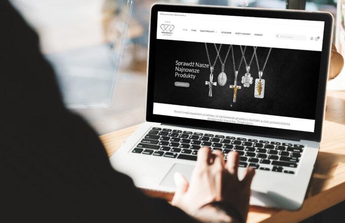tworzenie sklepów internetowych srebrnemedaliki.pl by siplex - Obrazek 1
